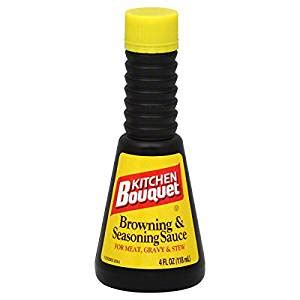 kitchen bouquet browning sauce kitchen bouquet browning and seasoning sauce 4 oz grocery gourmet food