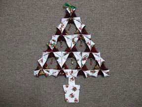 Origami Fabric Tree - creative times with sue my tutorials