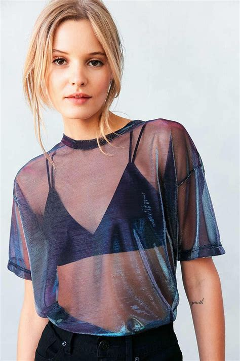 8 best images about urban modeling on pinterest models silence noise metallic shimmer mesh tee urban