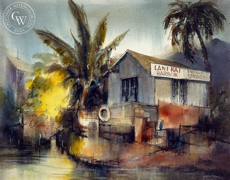 Painting 049 Sle Paper by Harbor Hawaiian By California