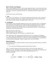 proper layout of a report proper lab report format galerievigneault com