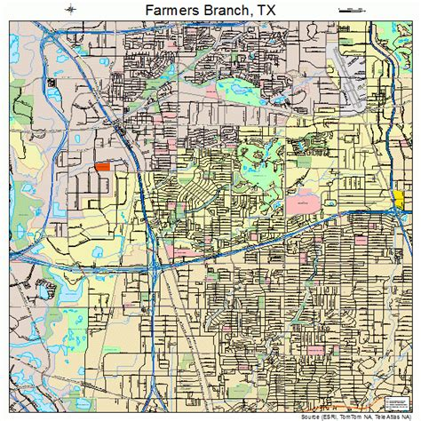 map of farmers branch texas farmers branch texas map 4825452