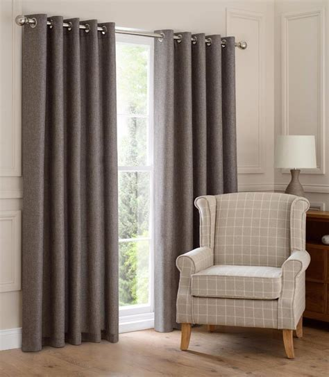 closeout drapes montana lined eyelet ring top linen look curtains