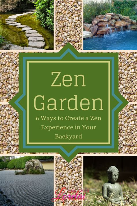 how to build a zen garden 6 ways to create a zen experience in your backyard life