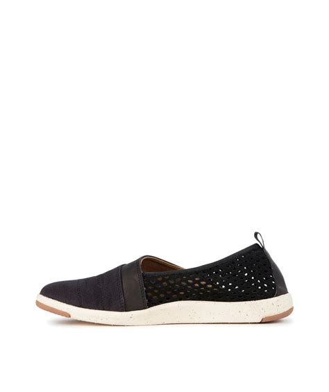 emu australia meroo s leather flat vevey shoes