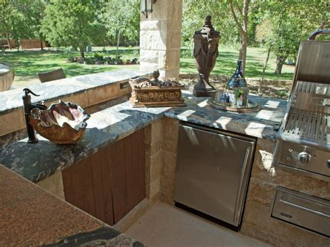 back yard kitchen ideas outdoor kitchen cabinet ideas pictures ideas from hgtv