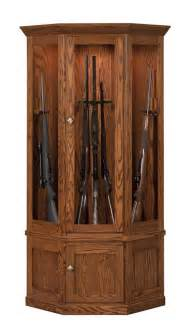 amish solid wood gun cabinet