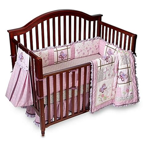 cocalo baby sugar plum 6 piece crib bedding set buybuy baby