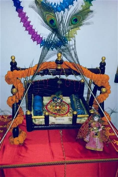 how to decorate janmashtami at home janmashtami decoration ideas janmashtami janmashtami decoration janmashtami decoration