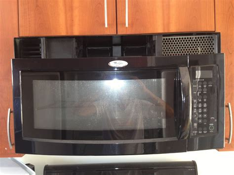 how to attach a vent grill on microwave whirlpool