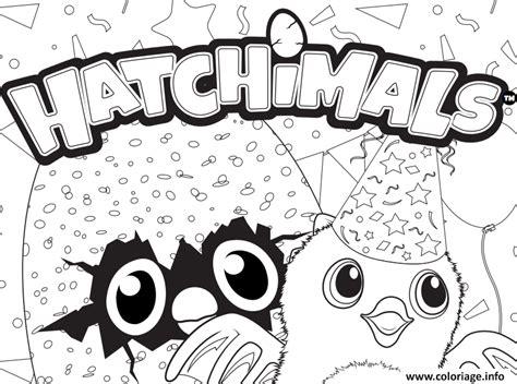 coloring page hatchimals coloriage hatchy hatchimals logo jecolorie com