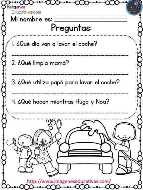 lecturas comprensivas para primaria noa y hugo 7 lecturas comprensivas para primaria noa y hugo 10