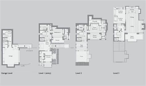 hillside floor plans hillside view home plans 171 floor plans
