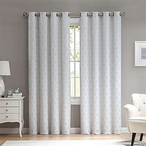 window with curtains marrakesh grommet top window curtain panel bed bath beyond