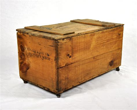 large crate vintage wood large shipping crate