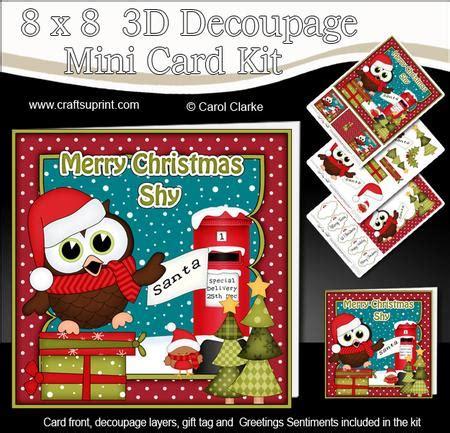 3d decoupage kits 8x8 hoot owl 3d decoupage cup583805