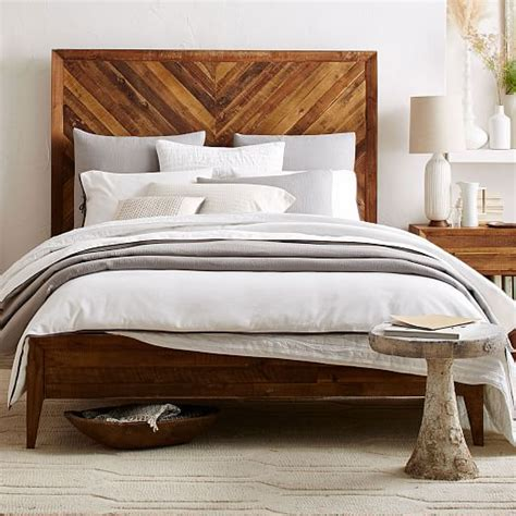 Alexa Reclaimed Wood Bed West Elm West Elm Bed