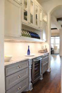 How To Glaze White Kitchen Cabinets Buffet And Butler S Pantry Burrows Cabinets Central