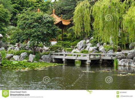 giardino cinese giardino cinese sydney australia fotografia stock