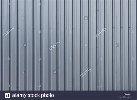 Corrugated Metal Cladding Grey Corrugated Steel Cladding On A Industrial Building