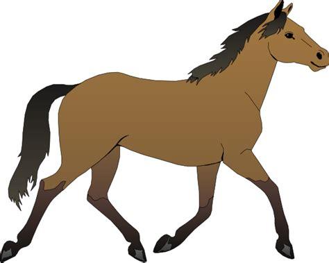 clipart cavalli running clip at clker vector clip