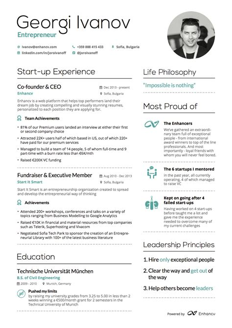 layout features exles resume features resume ideas