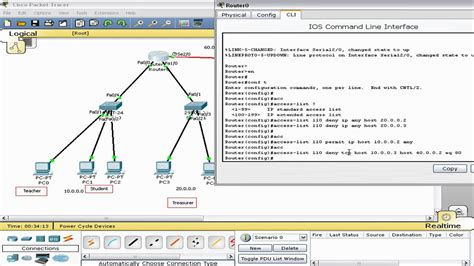 cisco packet tracer complete tutorials cisco access list extended part 2 packet tracer tagalog