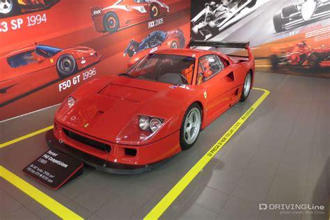 Ferrari Museum Italy by A Visit To Museo Ferrari Maranello Drivingline