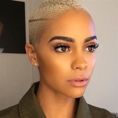 hairstyles on point instagram 594 best bald blond girl images on pinterest