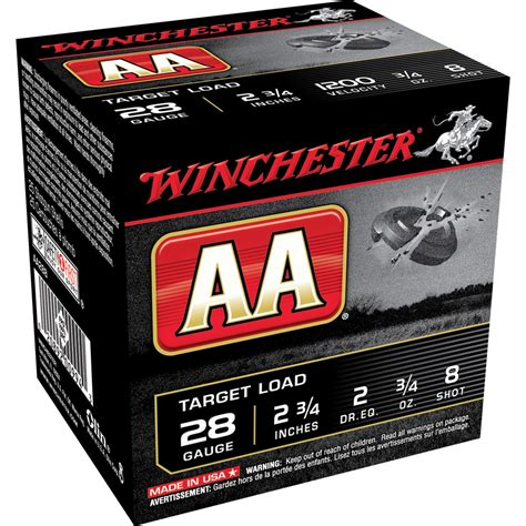winchester printable targets winchester aa target 410 ga 2 1 2 quot max 1 2 oz 9 25 box