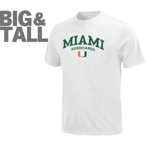 miami hurricanes fan gear miami hurricane big tall plus size t shirt hoodie fan