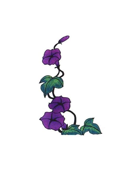 cross tattoos with flowers and vines cross contour flower drawing further purple flower vine