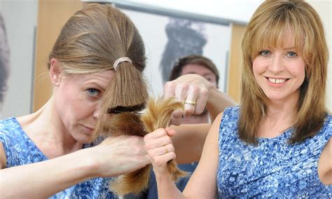 ponytail method cut hair is a diy hairdo a shortcut to disaster as more women skip