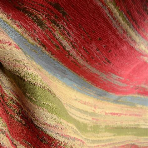 watercolor upholstery fabric watercolor scarlet southwest striped upholstery fabric