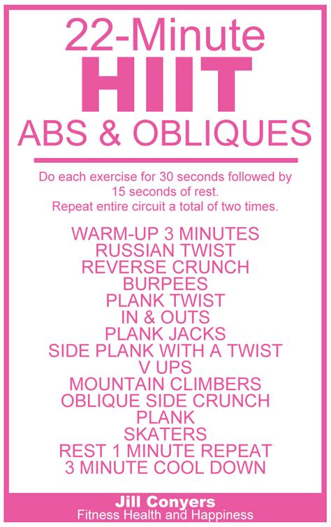 oblique abdominal workouts most popular workout programs