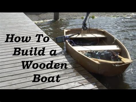 wooden boat plans for beginners how to build a wooden boat for complete beginners