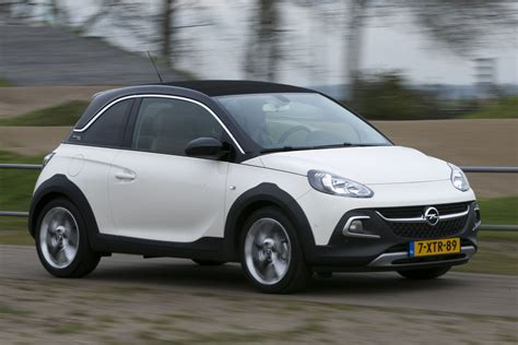 opel adam rocks opel adam rocks 1 0 turbo 2014 autotests autoweek nl