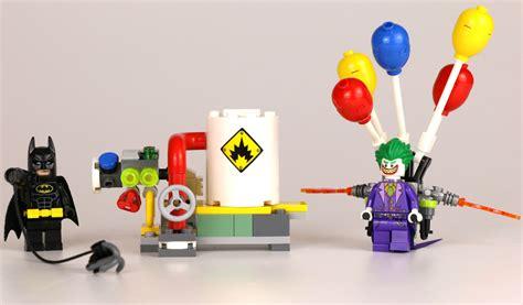 the lego batman the joker balloon escape 70900 im review zusammengebaut