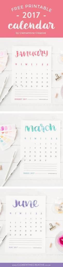 25 free printable calendars 25 free printable 2017 calendars scrap booking