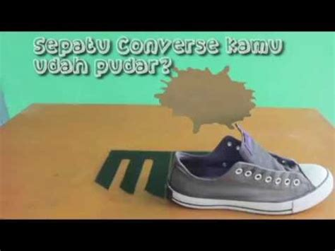 Sepatu Converse Keren 3 tutorial menghitamkan sepatu converse
