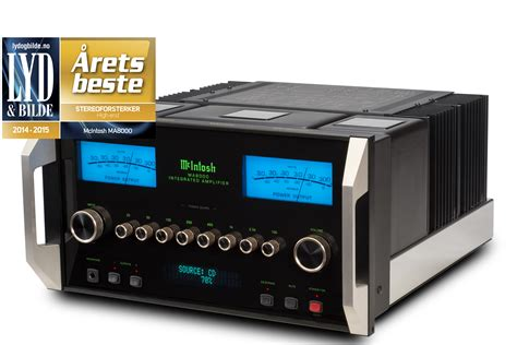 mcintosh ma integrated amplifier named high