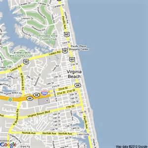 Virginia Beach Map by Pics Photos Virginia Beach Va Map