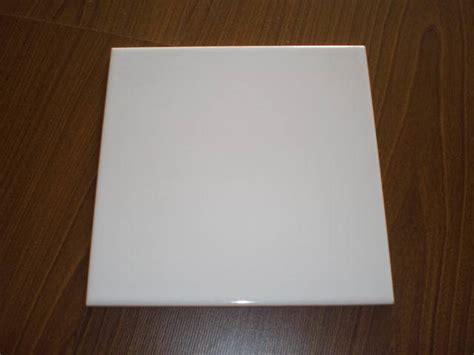 piastrelle 15x15 mattonelle di ceramica lucide delle mattonelle bianche