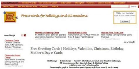 55 favorite websites of greeting cards