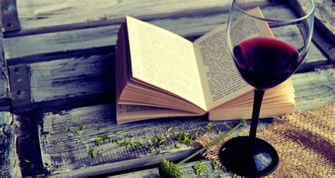 Best Home Decor Brands the grape escape why books and wine go hand in hand