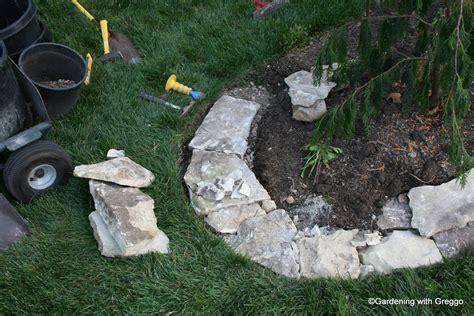 Baum Mit Steinen Umranden by Gardening With Greggo Field Edging Diy