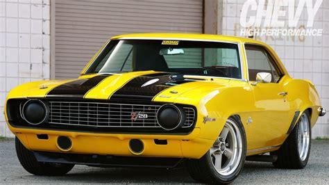 camaro muscle car classics 1969 yellow 302 z28 camaro muscle cars classic wallpaper