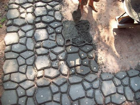 Patio Molds Concrete Pavers 29 Best Images About Walk This Way On Concrete Walkway Pathways And Building