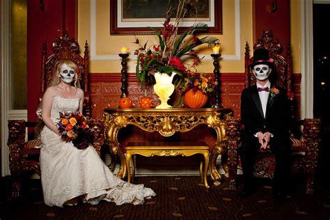 halloween themes wedding tbdress blog a spooky and haunted halloween wedding theme