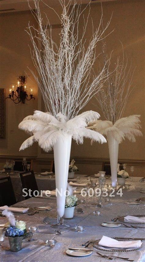 centerpieces with feathers and flowers best 25 feather centerpieces ideas on